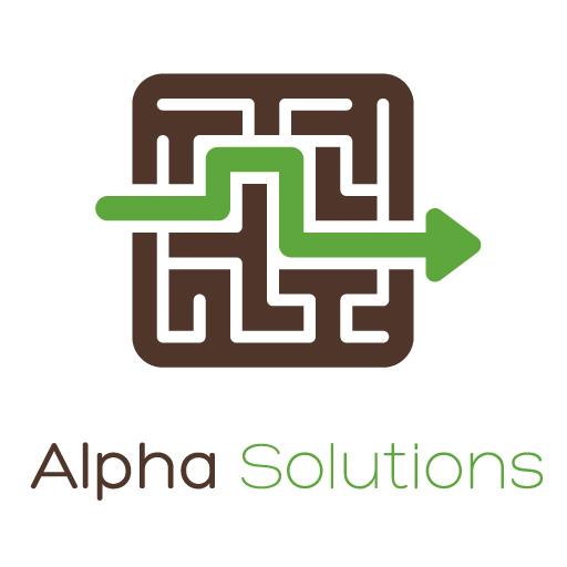 Alpha Solutions Management Logo